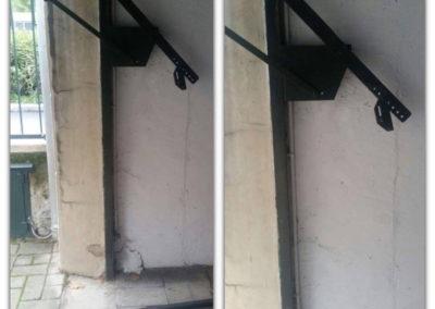 cambio molla tirante porta garage 1