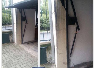 cambio molla tirante porta garage 2
