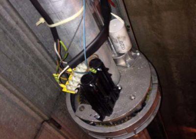 controllo motore serranda