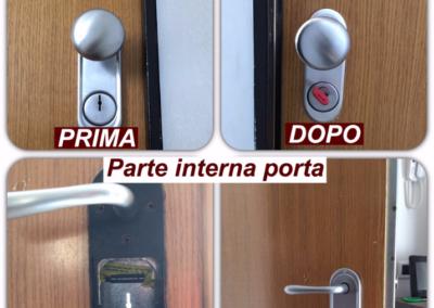 conversione serratura da serratura a doppi mappa a cilindro europeo