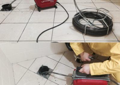 disostruzione tubo di scarico con sonda elettrica