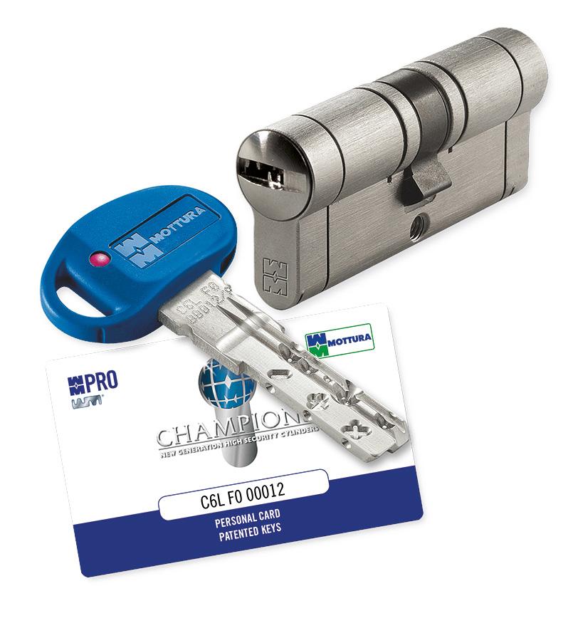 Conversione della serratura a doppia mappa a cilindro for Estrarre chiave rotta da cilindro
